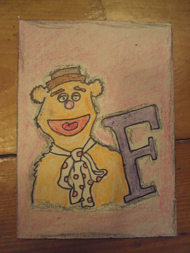 Fozzie Bear by alwaysfreshcoffee