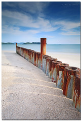 Rusty Vacation (SHAZRAL) Tags: longexposure sea seascape beach canon eos malaysia langkawi pantai kedah cenang daytimelongexposure ef1740mmlusm leefilters 5dmarkii azralfikri shazral 09softgrad