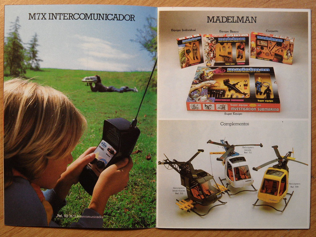 1982 Madelman Catalogue 2