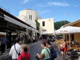 de compras en rodas - viajes grecia