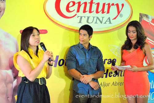 Aljur Abrenica and Phoemela Baranda @ Century Tuna event by marco adventure