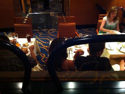 Carnival Splendor - Less Pleasant Tables for Two