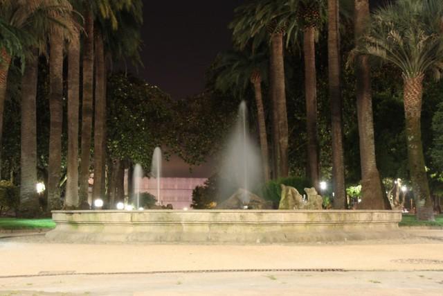 Fuente en los jardines de Colón, Pontevedra