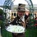 Steampunk gin waiter