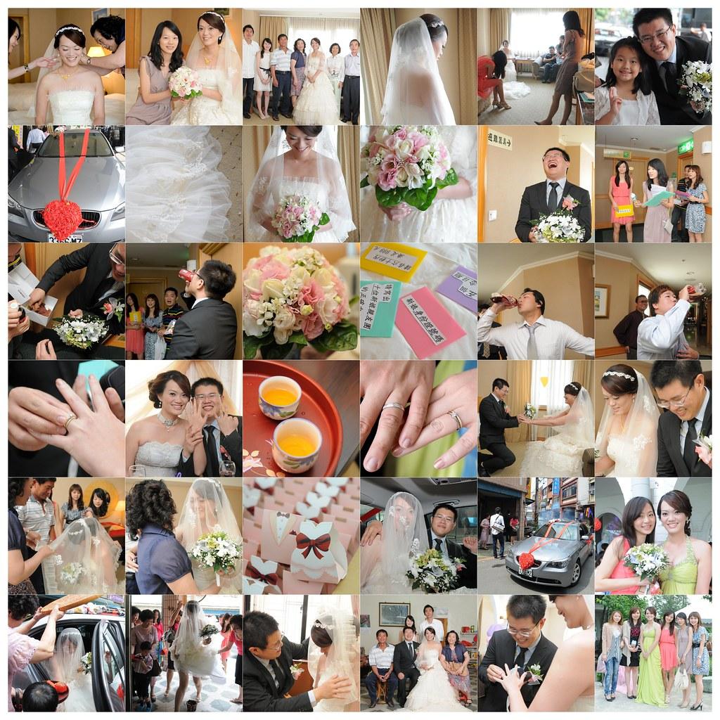 2011.5.21 王莊府迎娶婚宴紀錄@住都飯店,綠灣人文餐廳