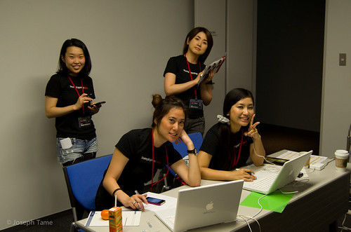 Backstage at TEDxTokyo 2011