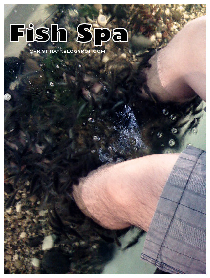 Fish Spa @ Queensbay Mall Penang