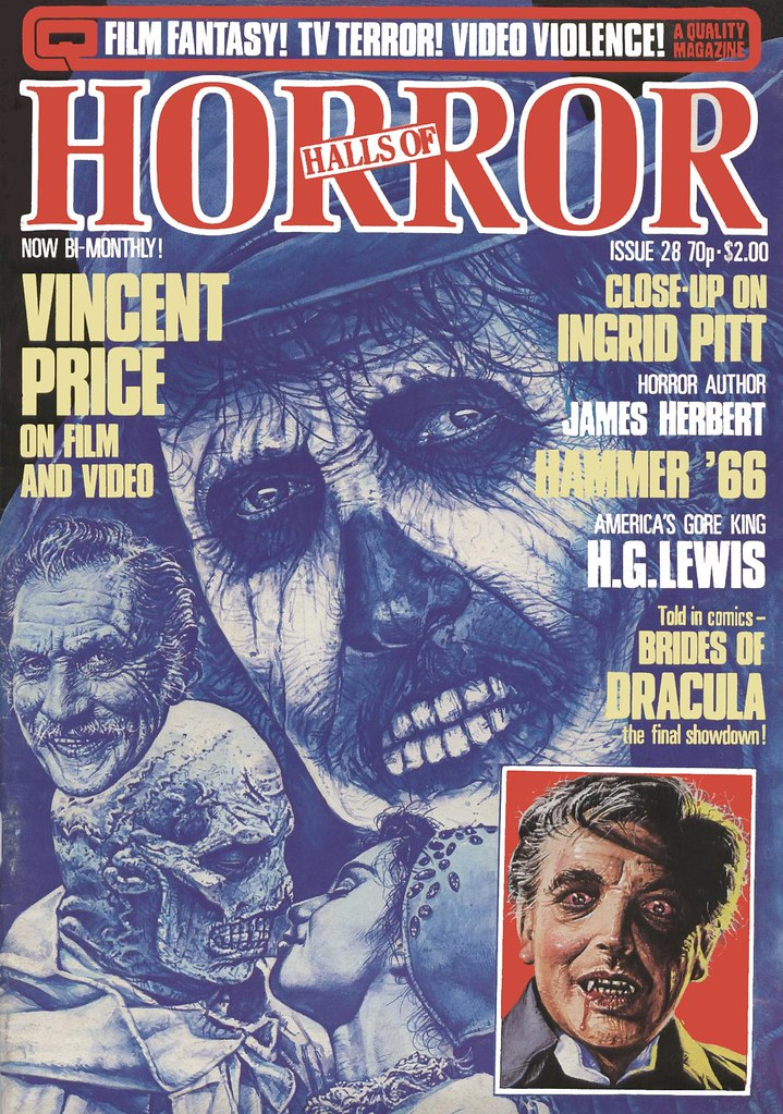 House Of Hammer Magazine (Halls Of Horror) - Issue 28 (1983)
