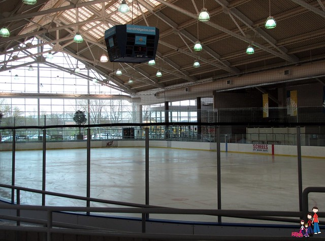 NHL Regulation Size Ice Arena at Coral Ridge Mall near Iowa City