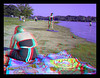 3D Anaglyph - Lake Logan Digital Camera We