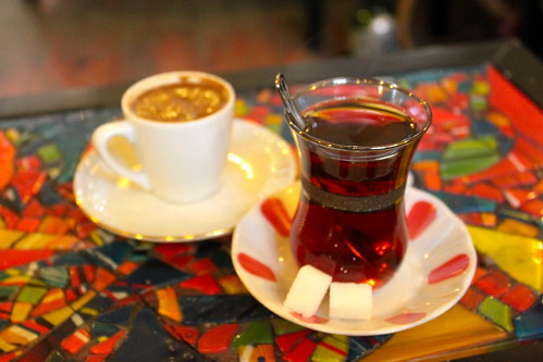 Turkish tea and coffee