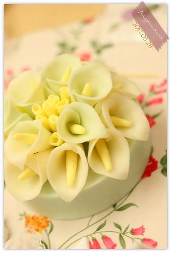 天使媽媽蛋糕皂教學 039