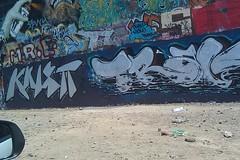 Knistt trav ('Iron Chef ') Tags: black wall silver graffiti pieces central ethan calm chef fresno valley msk jive trav calme calmer cya cvk traver knistt gtl jiver jivey bfor chefer calmr bforty knistto