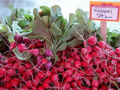 Arcadian Fields radishes