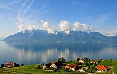 Les alpes de Savoie (Diegojack) Tags: eau lac reflets paysages montagnes