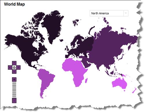 世界各国のFacebook利用者を示す地図データ
