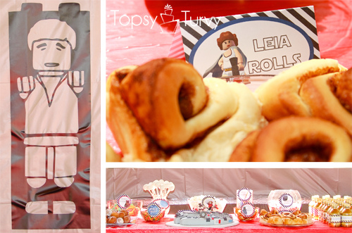 Lego-Star-Wars-birthday-party-food-leia-rolls-carbonite-hans-solo