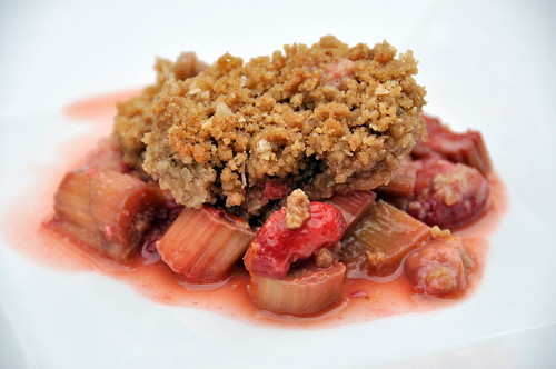 Strawberry Rhubarb Crisp – The Way to His Heart
