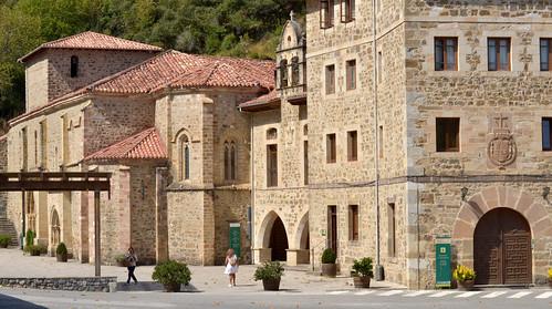 Monastery of Santo Toribio de Liébana. Cantabria. Spain.