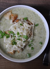 October 6 #dailylunches - Broccoli soup! (fishbowl_fish) Tags: lunch dailylunches leftovers