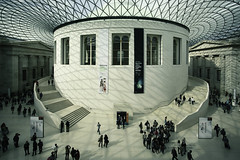 British Museum (sisyphus007) Tags: britishmuseum bestofbritish london londonarchitecture canon5dmarklll canon5dlll canon canon7d architecture modernarchitecture modernbuildings 2016michaelkiedyszko explorelondon exploringlondon indoors shadows hall abstract surreal