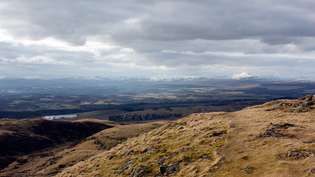 Towards the Southern Highlands from Dumyat