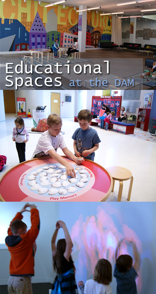 Educational Spaces at the DAM