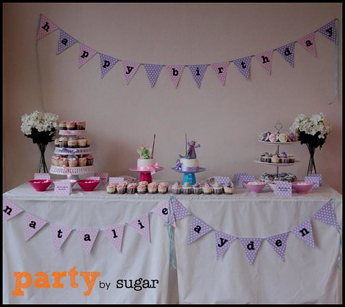 pink & purple theme party5