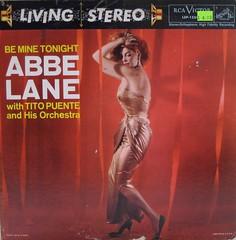 Be Mine Tonight — Abbe Lane (johnpurlia) Tags: red scarlet gold redhead ruby satin titopuente beminetonight vintagevinyl abbelane vintagerecord vintagelp vintagealbumcover