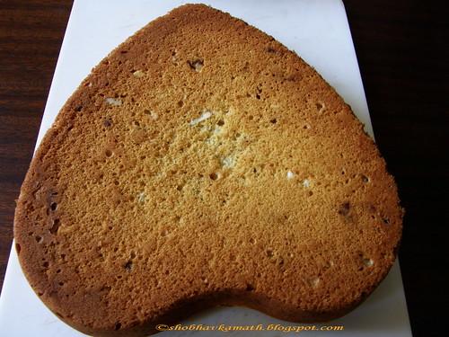 Eggless sponge cake 1