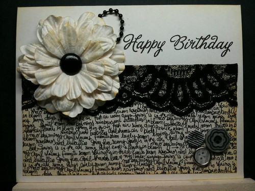 Vintage Happy Birthday by Tammy Ozuna