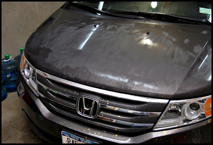 Remove Spilled Paint From Car
