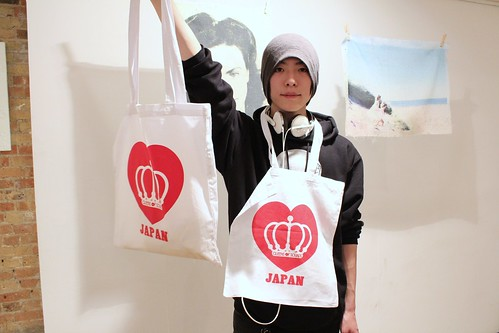 ARATA With QOS Loves JAPAN Tote #prayforjapan