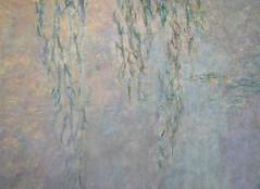 """Claude Monet, """"Les Nymphéas,"""" Les Deux saules (detail)"""