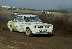 Rallycross-Snetterton- year? - Len Croxton - Ford Escort