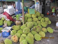 jackfruit (joergenchr.petersen) Tags: udon thani frugt grntmarked grntogfrugtmar