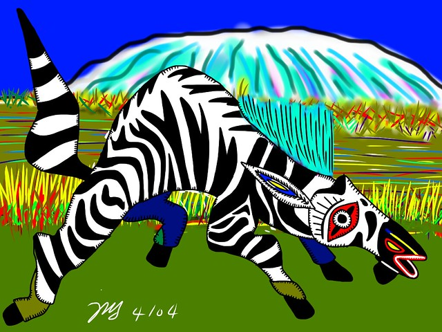 Demon #23 - The Mutant Zebra of Kilimanjaro