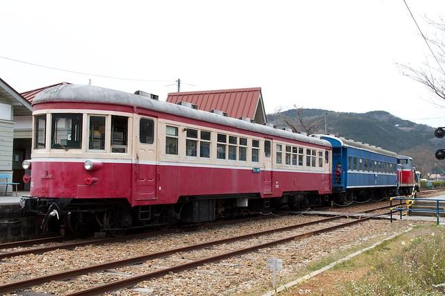 片上鉄道混合列車