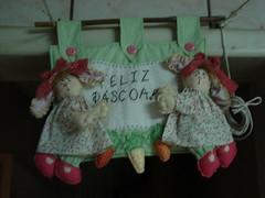 Pano Coelhas gêmeas (tatiane_zoo) Tags: patchwork