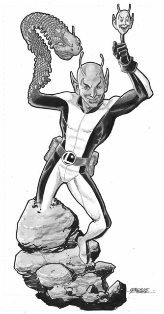 Chameleon Boy commission by George Perez