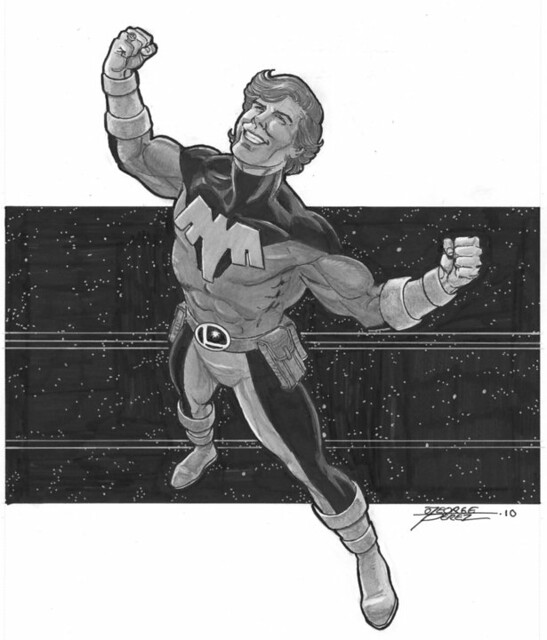 Ultra Boy commission by George Perez