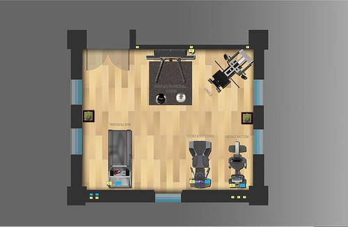 Designing home gym layout - Home art
