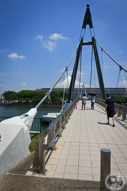 Walking Bridge @ Singapore Indoor Stadium