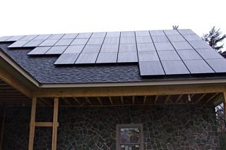 Portland, NY residential solar installation