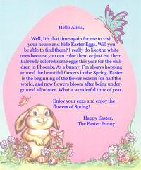 image regarding Easter Bunny Letterhead named Cost-free Letters towards the Easter Bunny