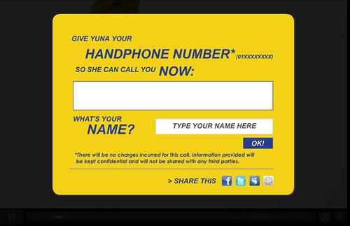 handphone number