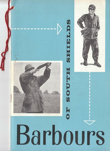 Barbour Catalogue 1962 1 by Thornproof