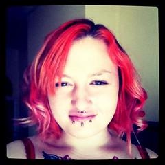 Curled my hair! 8/4