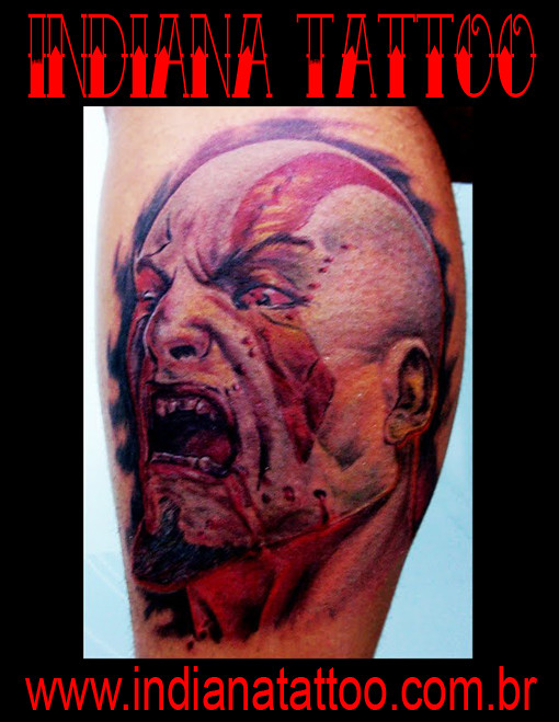 The World S Newest Photos Of Kratos And Tattoo Flickr Hive