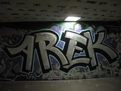 Arek graffiti